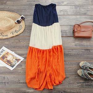 Dresses & Skirts - Patchwork Flowy Dress